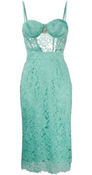 Lace Panel Dress - Elisabetta Franchi