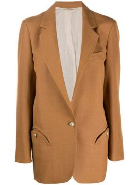 Fitted Single-breasted Blazer - Blazé Milano