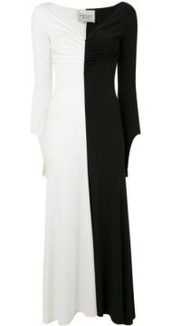 Ruched-detail Fluted Dress - A.w.a.k.e. Mode