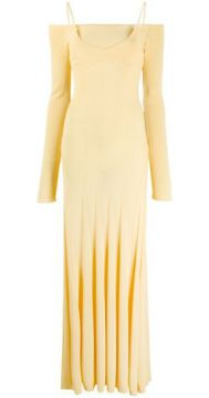 La Robe Maille Valensole Long Dress - Jacquemus