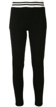 Monroe Cotton Track Pants - Electric & Rose