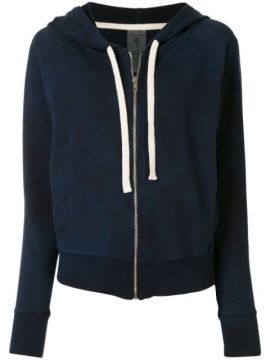 Ryder Zipped Hoodie - Electric & Rose