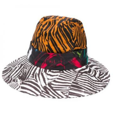 Chapéu Fedora Color Block - Missoni