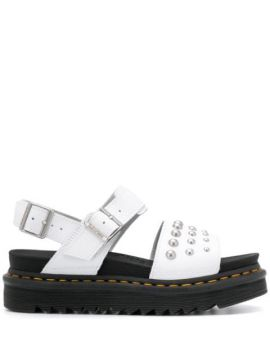 Studded Chunky Sandals - Dr. Martens