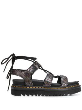 Wrapped Ankle Sandals - Dr. Martens