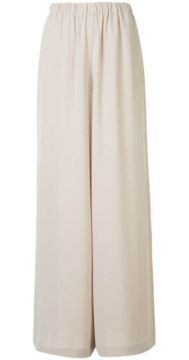 High-waisted Wide-leg Trousers - Atm Anthony Thomas Melillo