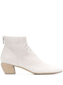 Ankle Boot Com Salto Médio - Officine Creative