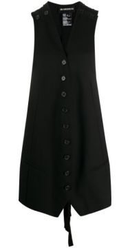 Button Waistcoat Dress - Ann Demeulemeester