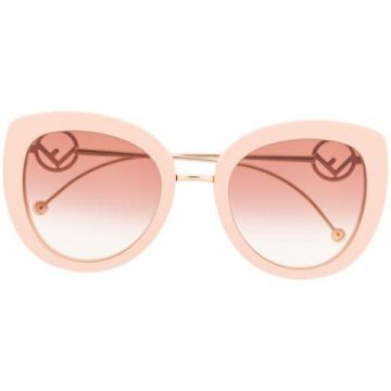 0409/s Logo Sunglasses - Fendi Eyewear