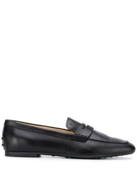 Square Toe Loafers - Tods