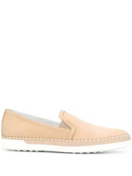 Almond Toe Loafers - Tods