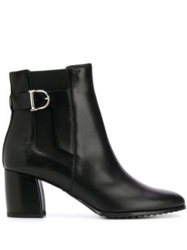 Buckle-embellished Ankle Boots - Tods