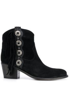 Ankle Boot Com Franjas - Via Roma 15