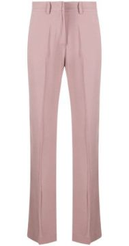 Straight Tailored Trousers - Hebe Studio