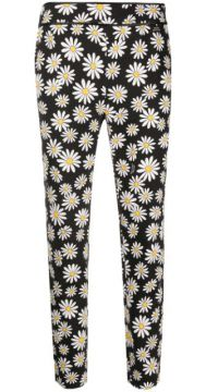 Floral-print Trousers - Boutique Moschino