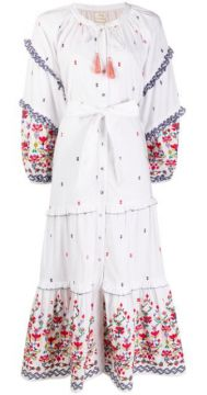 Kenko Floral Embroidered Dress - Chufy