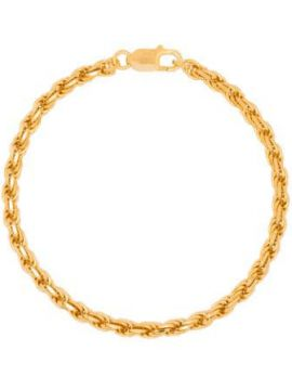 Gold-plated Achilles Chain Anklet - Hermina Athens