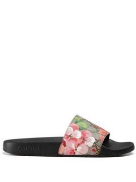 Slide gg Blooms Supreme - Gucci