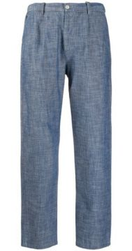 Straight-leg Cropped Trousers - Altea