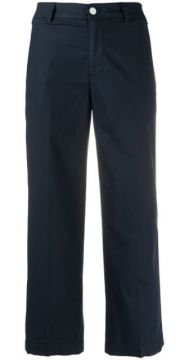 Cropped Pleated Trousers - Dondup