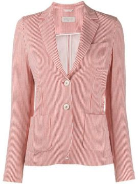 Americana Single Breasted Pinstriped Blazer - Circolo 1901