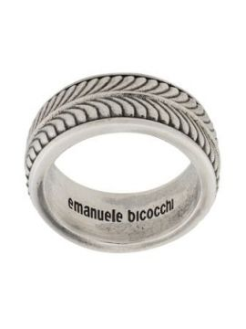 Engraved Band Ring - Emanuele Bicocchi