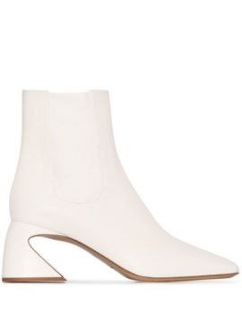 Ankle Boot Com Salto 70mm - Jil Sander