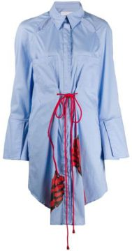 Long Drawstring Shirt - Thebe Magugu