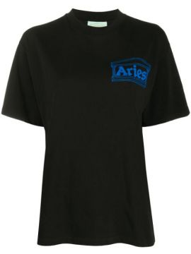 Camiseta Temple Com Estampa De Logo - Aries