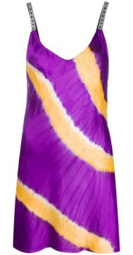 Vestido Mini Tie-dye - Palm Angels
