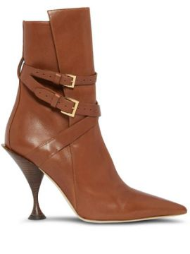 Ankle Boot Bico Fino - Burberry