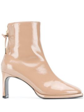 Ribbon Thin 80mm Ankle Boots - Reike Nen