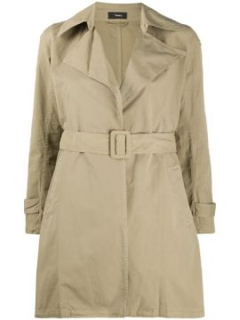 Trench Coat Com Cinto - Theory
