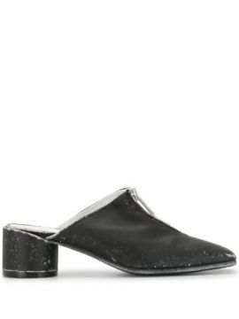 Mule Salto Bloco - Mm6 Maison Margiela