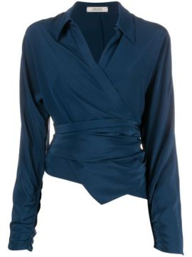 Fluid Volumes Wrap-around Blouse - Dorothee Schumacher
