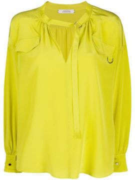 Fluid Volumes D-ring Blouse - Dorothee Schumacher