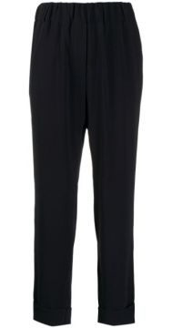 High-waisted Tapered Trousers - Brag-wette