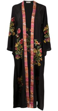 Floral Embroidered Robe - Anjuna