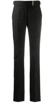 Belted Slim Tailored Trousers - Tom Ford