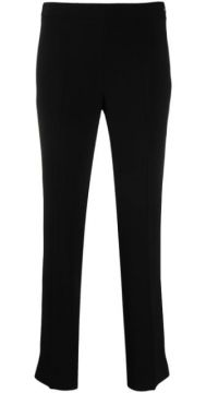 Cropped Pull-on Trousers - Alberto Biani