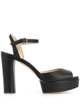 Sandália Peachy Com Salto 105mm - Jimmy Choo