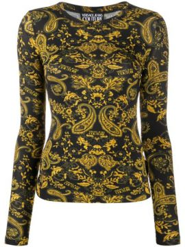 Baroque Print Jumper - Versace Jeans Couture