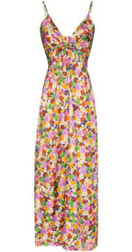 Slip Dress Flora De Seda Com Estampa Floral - Borgo De Nor