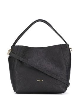 Pebble Effect Tote Bag - Furla