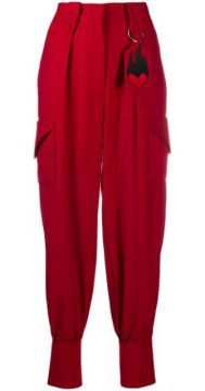 Key Charm Tapered Trousers - Atu Body Couture