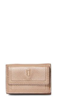 Carteira The Softshot Pearlized Mini - Marc Jacobs