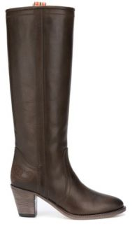 Slip-on Calf Leather Boots - Etro