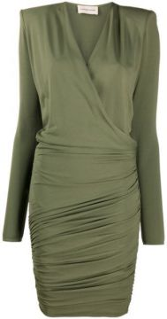 Wrap Front Mini Dress - Alexandre Vauthier