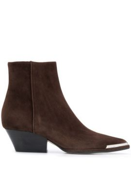 Capped Toe Western Boot - Sergio Rossi