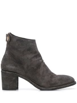 Ankle Boot Com Salto - Officine Creative